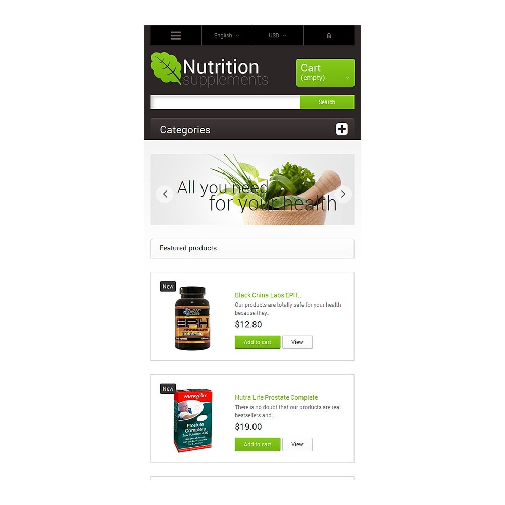 theme - Health & Beauty - Nutrition Supplements - 8