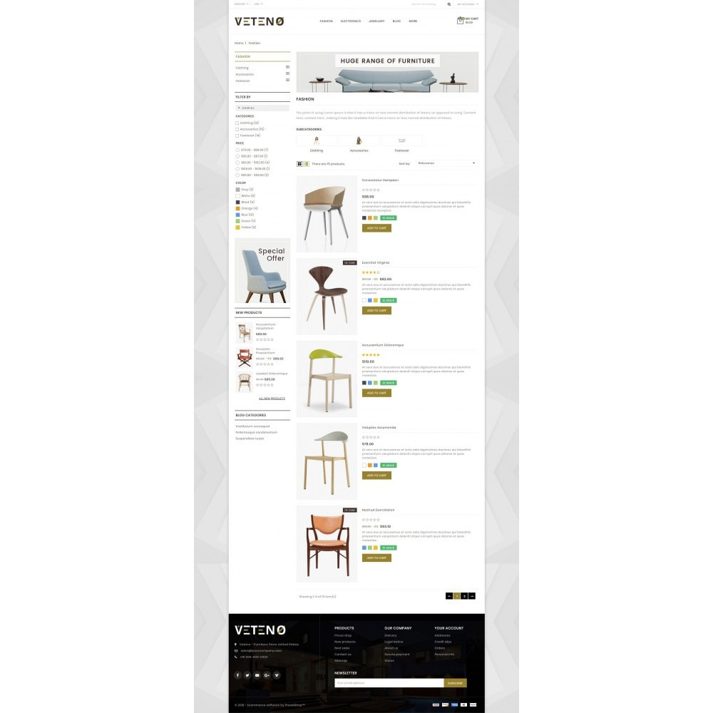 theme - Maison & Jardin - Veteno - Furniture Store - 4