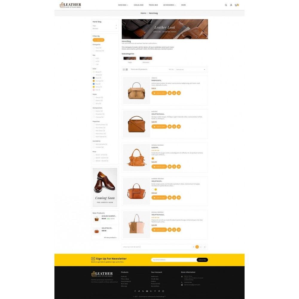 theme - Moda y Calzado - Leather Bag Crafts - 4