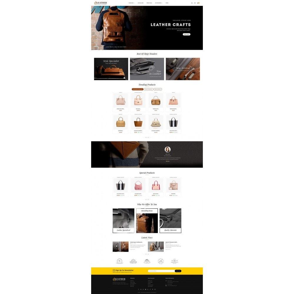 theme - Moda y Calzado - Leather Bag Crafts - 5