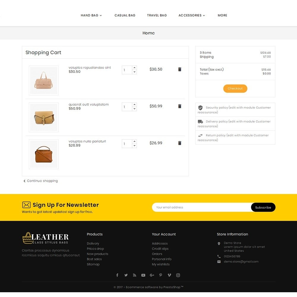 theme - Moda & Calzature - Leather Bag Crafts - 7