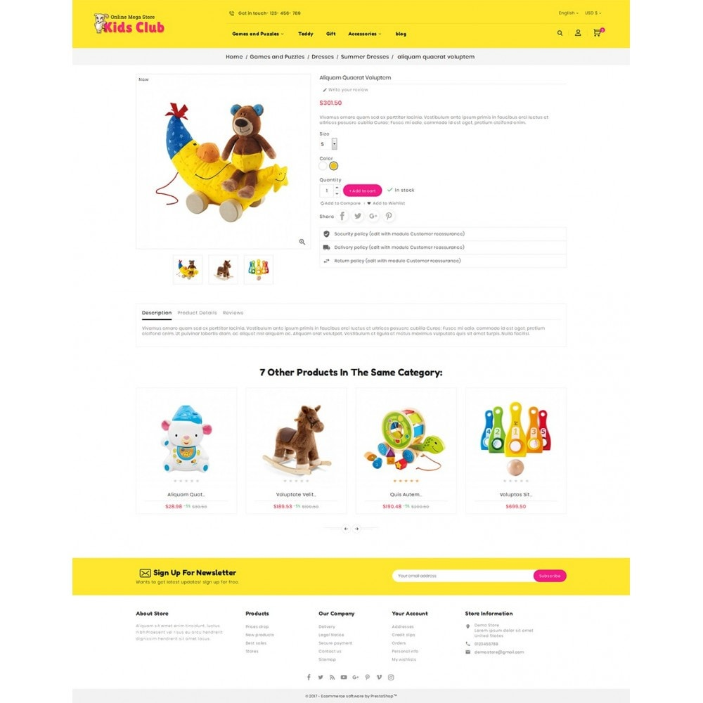 theme - Bambini & Giocattoli - Kids Toy Club - 6