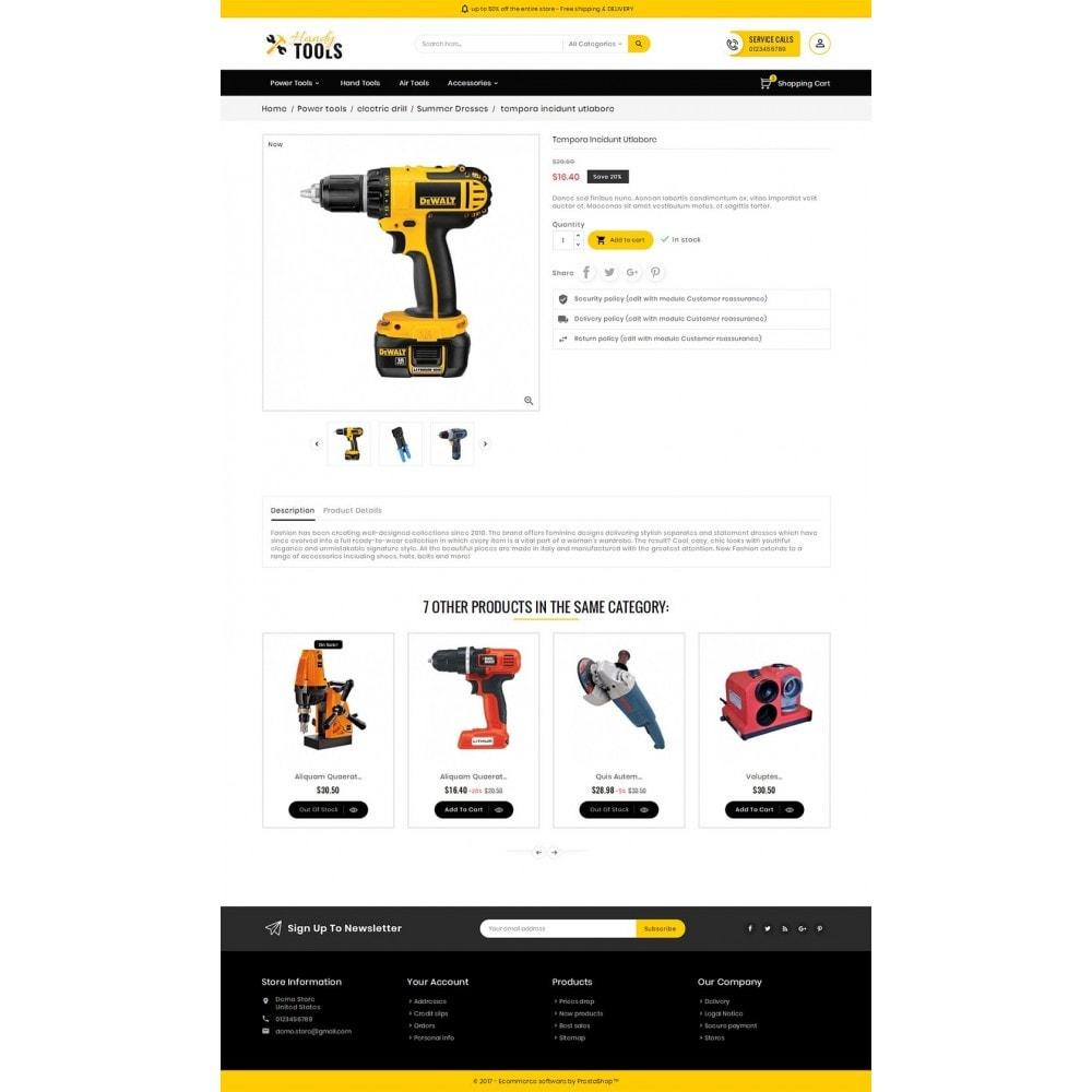 theme - Electrónica e High Tech - Handy Tools Store - 6