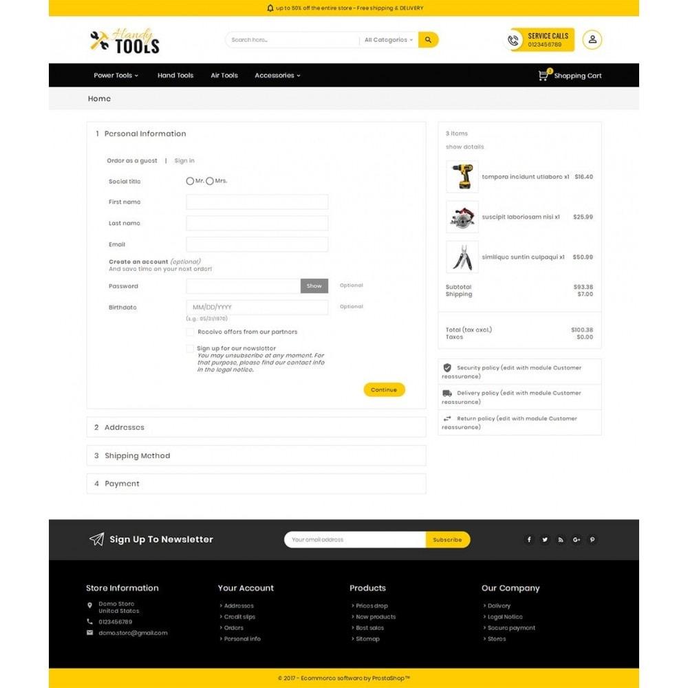 theme - Elektronik & High Tech - Handy Tools Store - 8