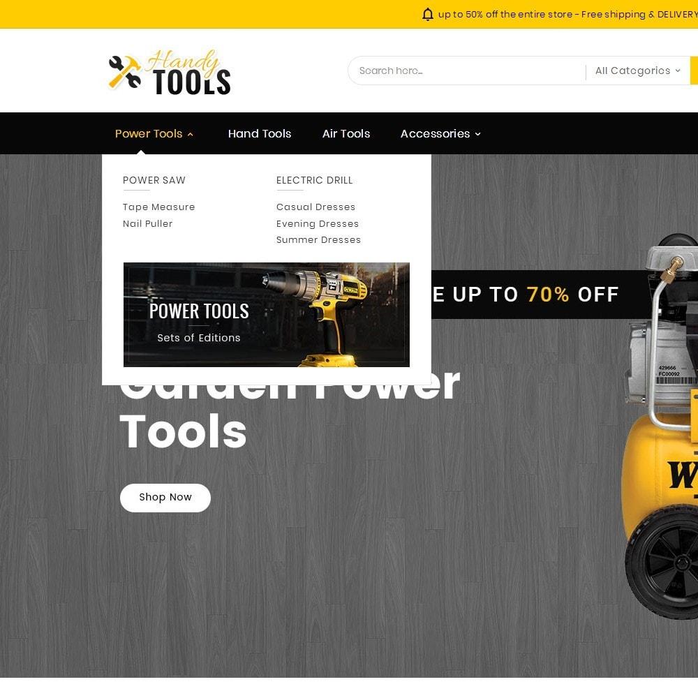 theme - Elektronik & High Tech - Handy Tools Store - 10