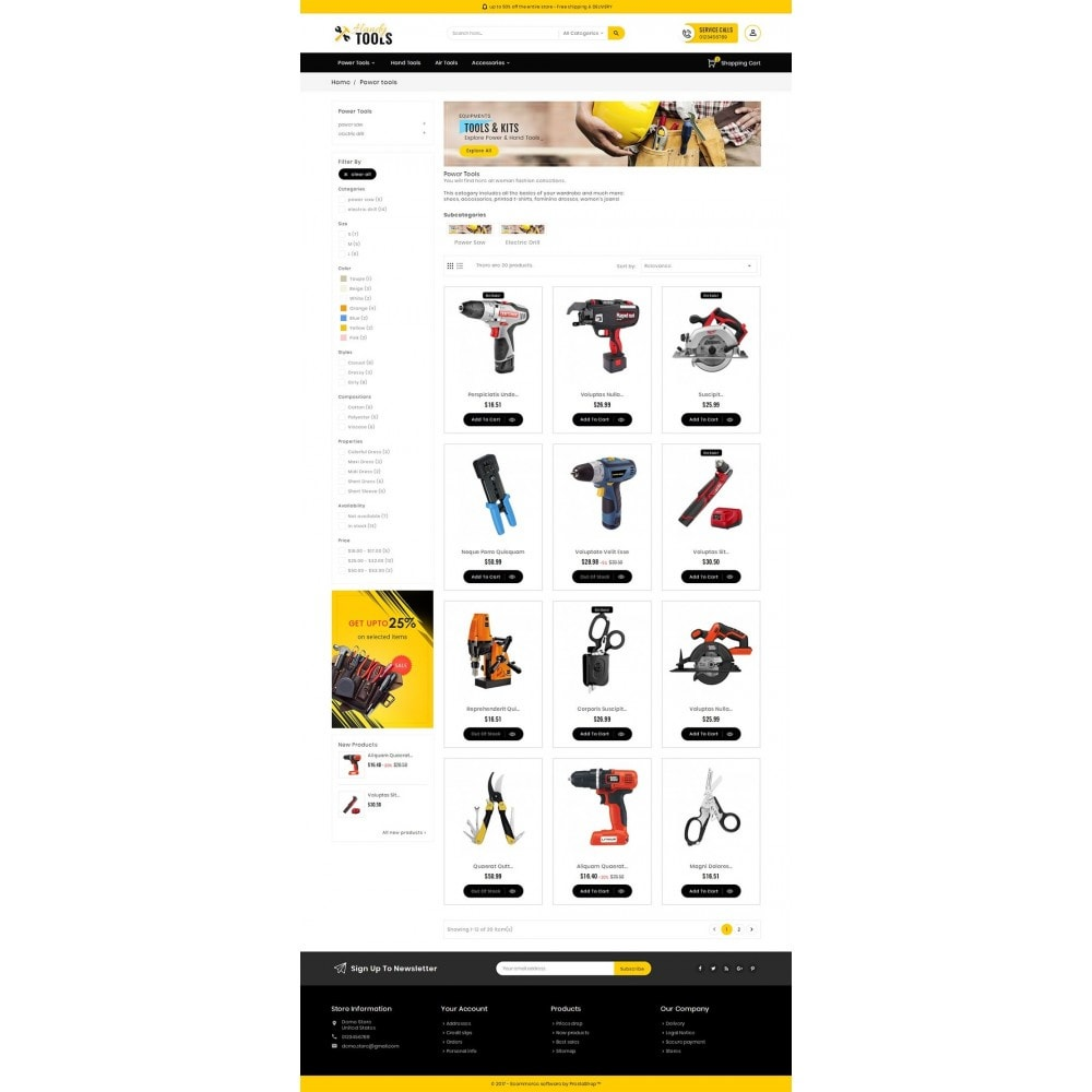 theme - Elettronica & High Tech - Handy Tools Store - 4