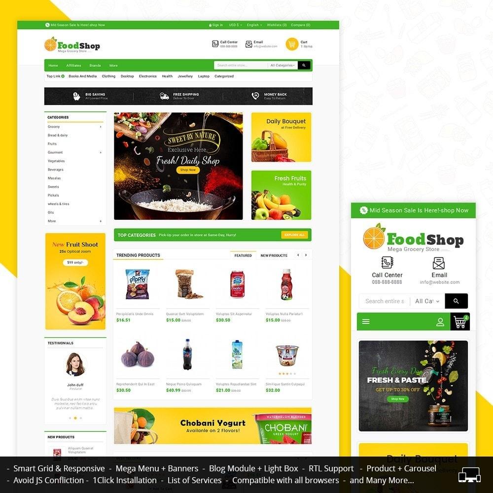 theme - Alimentation & Restauration - Grocery Food Mega Store - 2