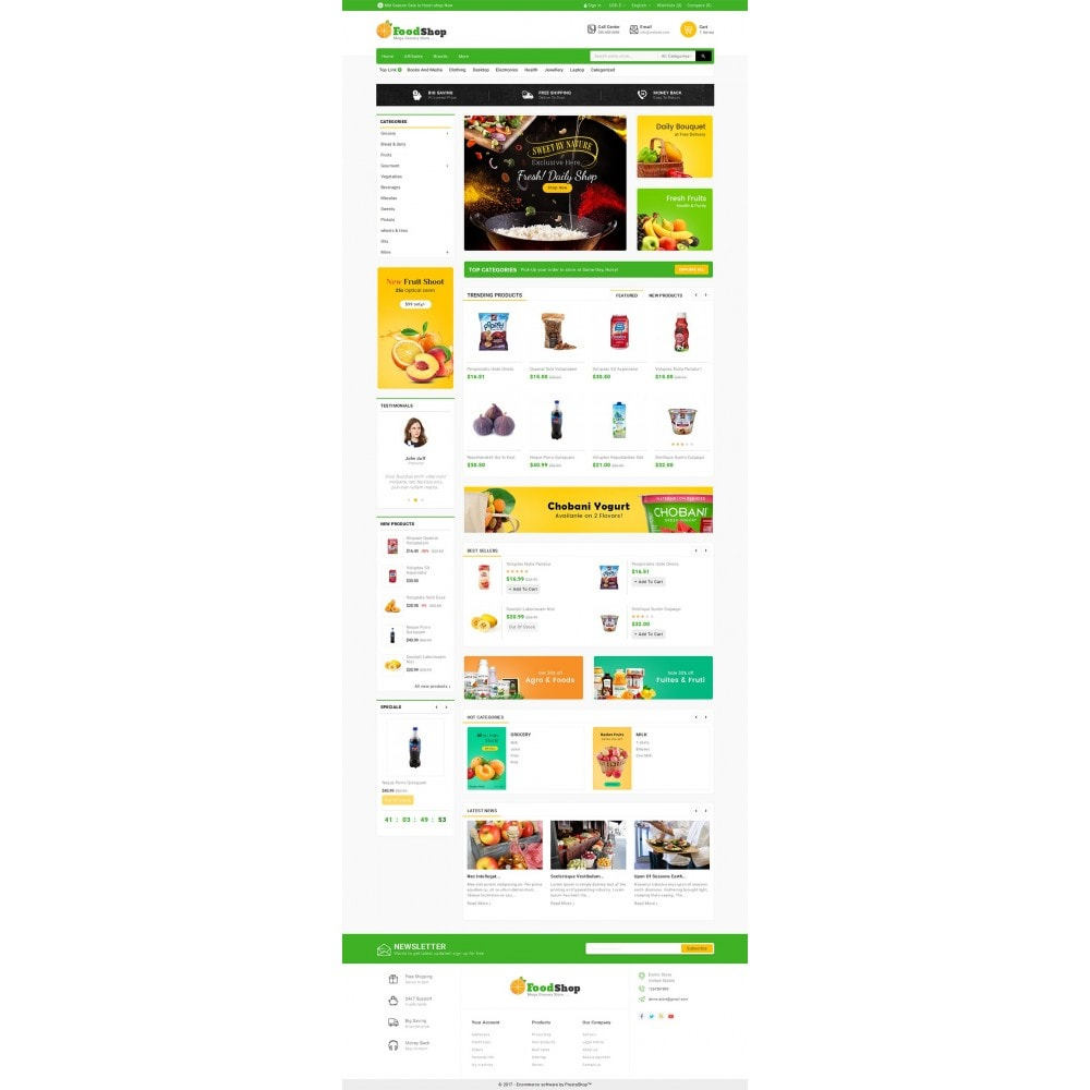 theme - Lebensmittel & Restaurants - Grocery Food Mega Store - 3