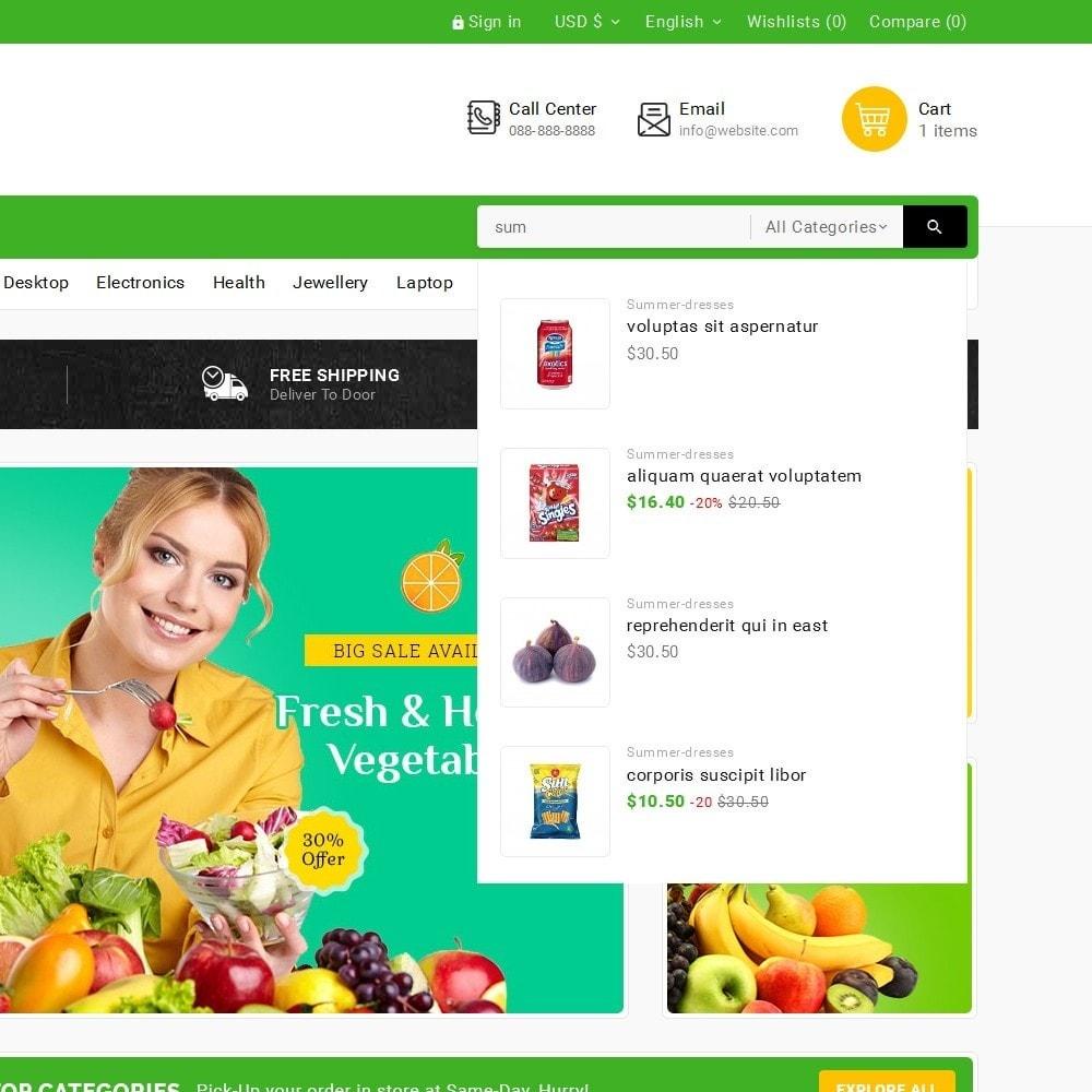 theme - Lebensmittel & Restaurants - Grocery Food Mega Store - 11