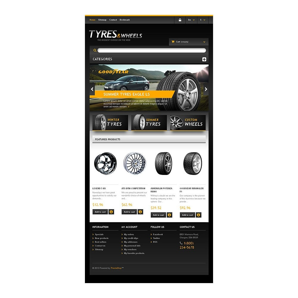 theme - Coches y Motos - Tyres & Wheels Store - 7