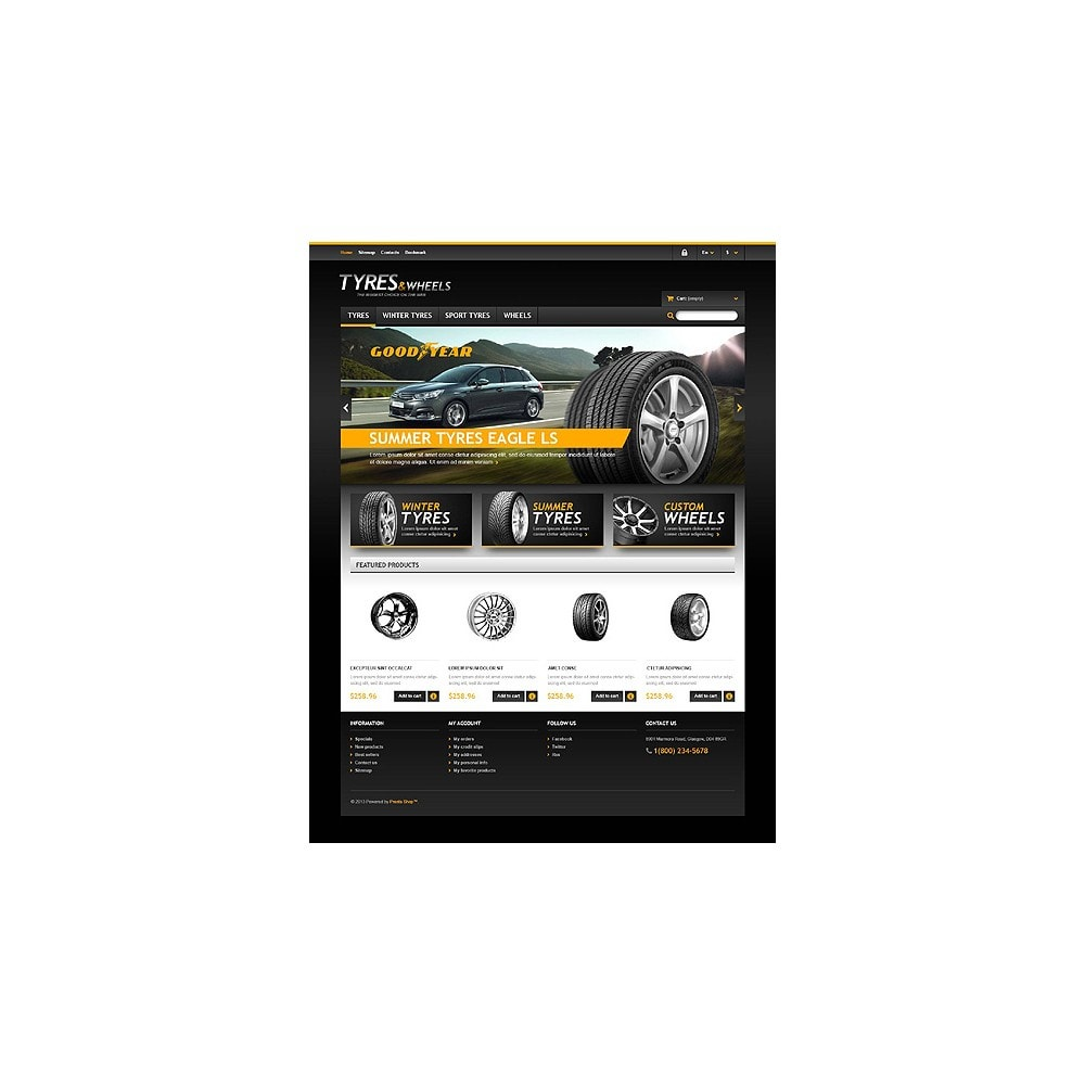 theme - Coches y Motos - Tyres & Wheels Store - 10