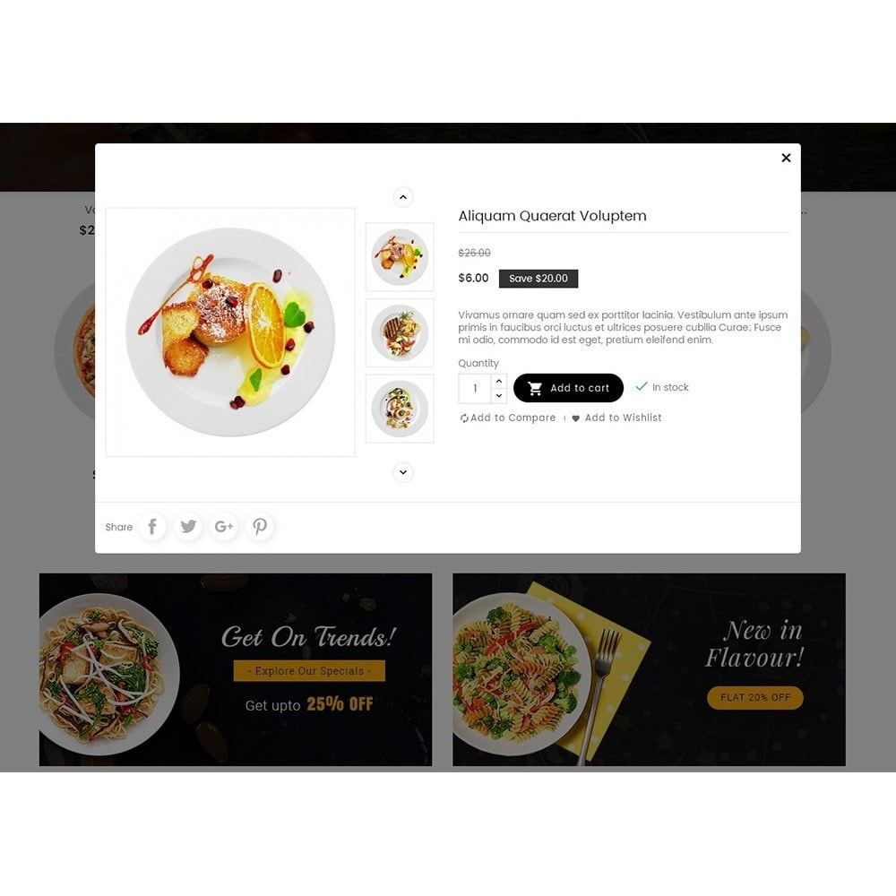 theme - Alimentation & Restauration - Good Gusto Food - 9