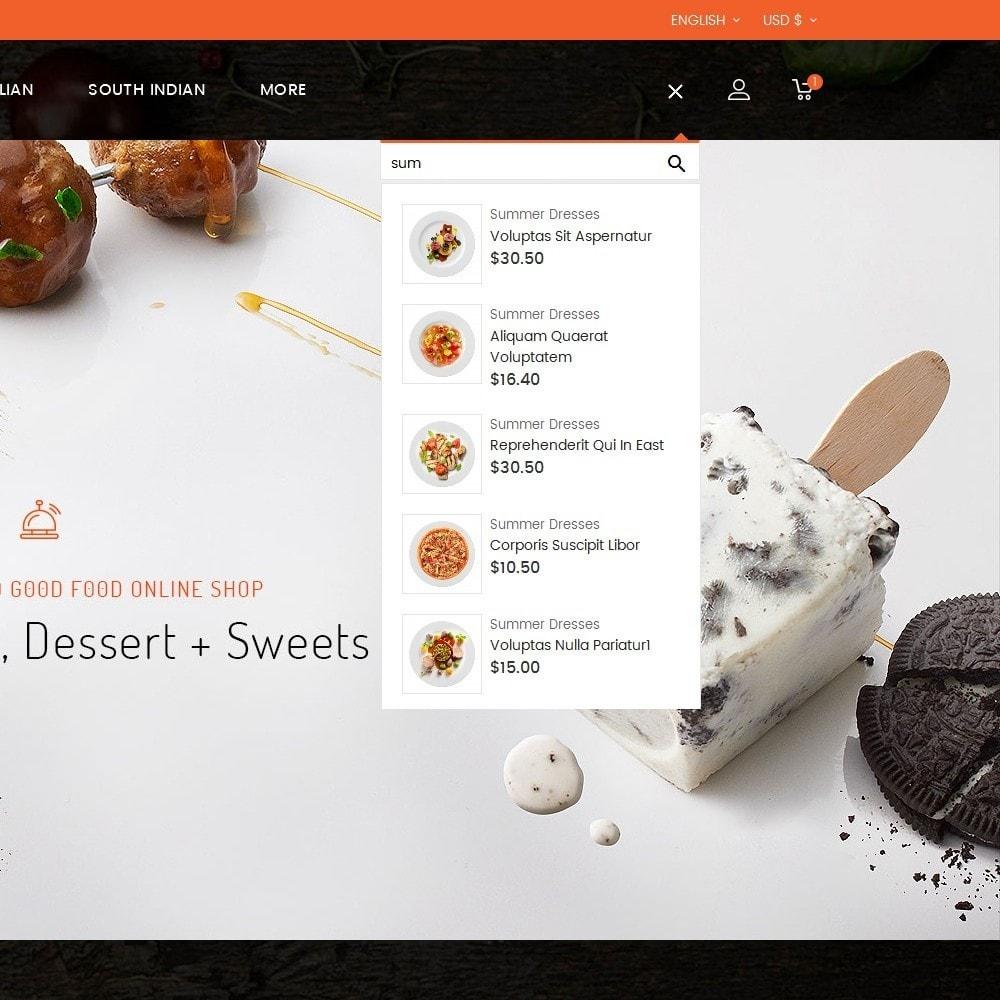 theme - Alimentation & Restauration - Good Gusto Food - 11