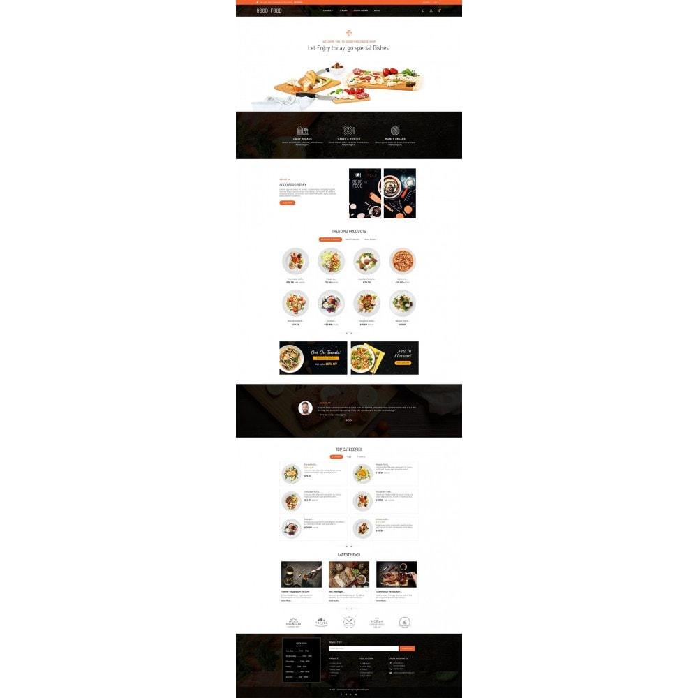 theme - Gastronomía y Restauración - Good Gusto Food - 3