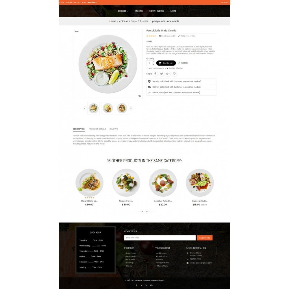 theme - Gastronomía y Restauración - Good Gusto Food - 6