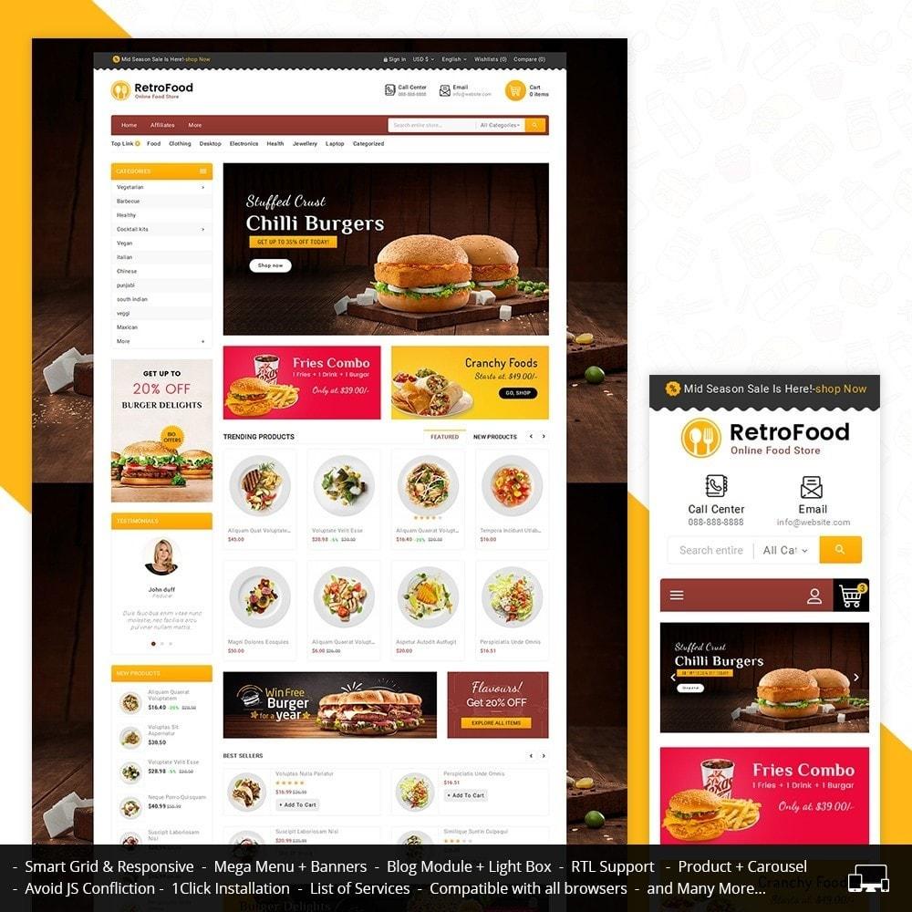 theme - Alimentation & Restauration - Fast Foods Mega Store - 2