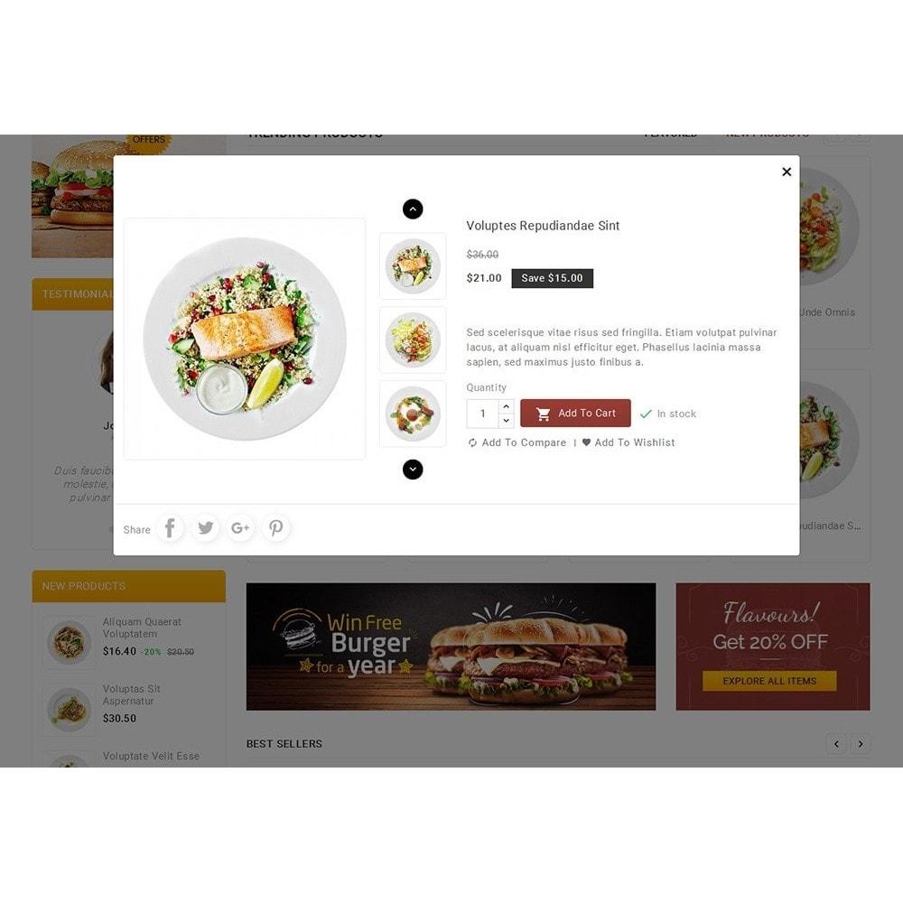 theme - Gastronomía y Restauración - Fast Foods Mega Store - 9