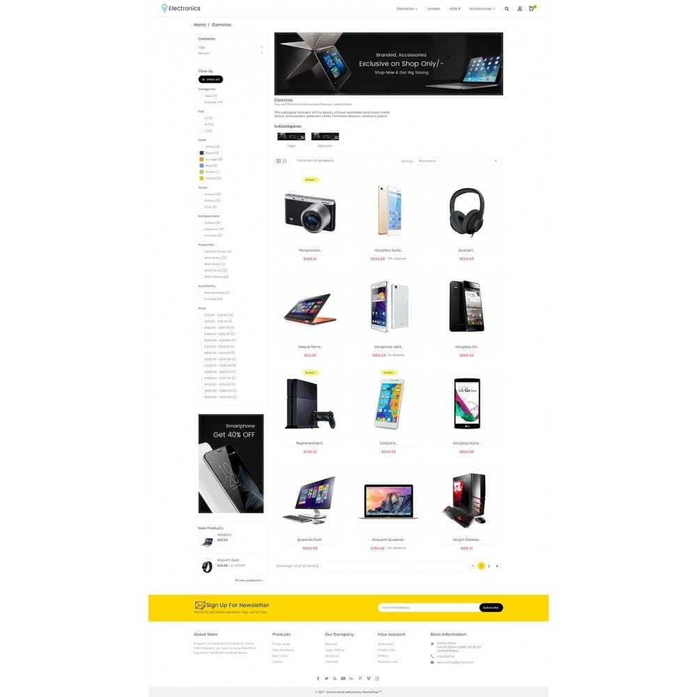 theme - Electronique & High Tech - Electronics Store - 4