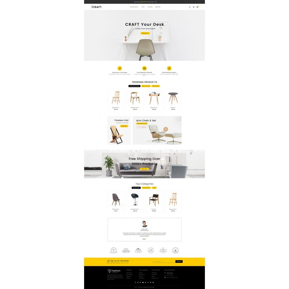 theme - Casa & Giardino - Craft Furniture Store - 3