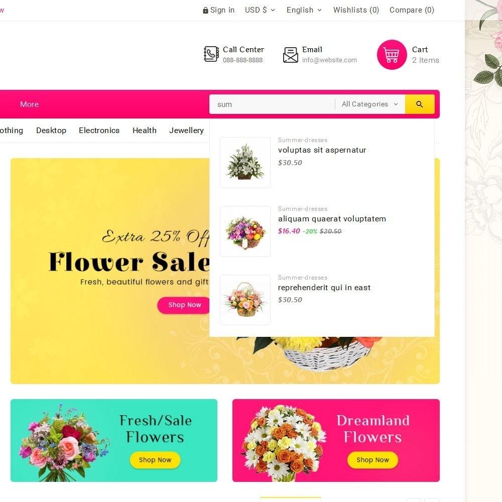 theme - Geschenke, Blumen & Feiern - Blooming Flower Mega Store - 11