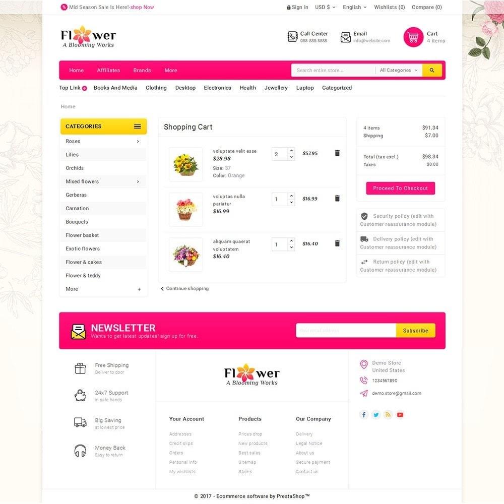 theme - Regali, Fiori & Feste - Blooming Flower Mega Store - 7