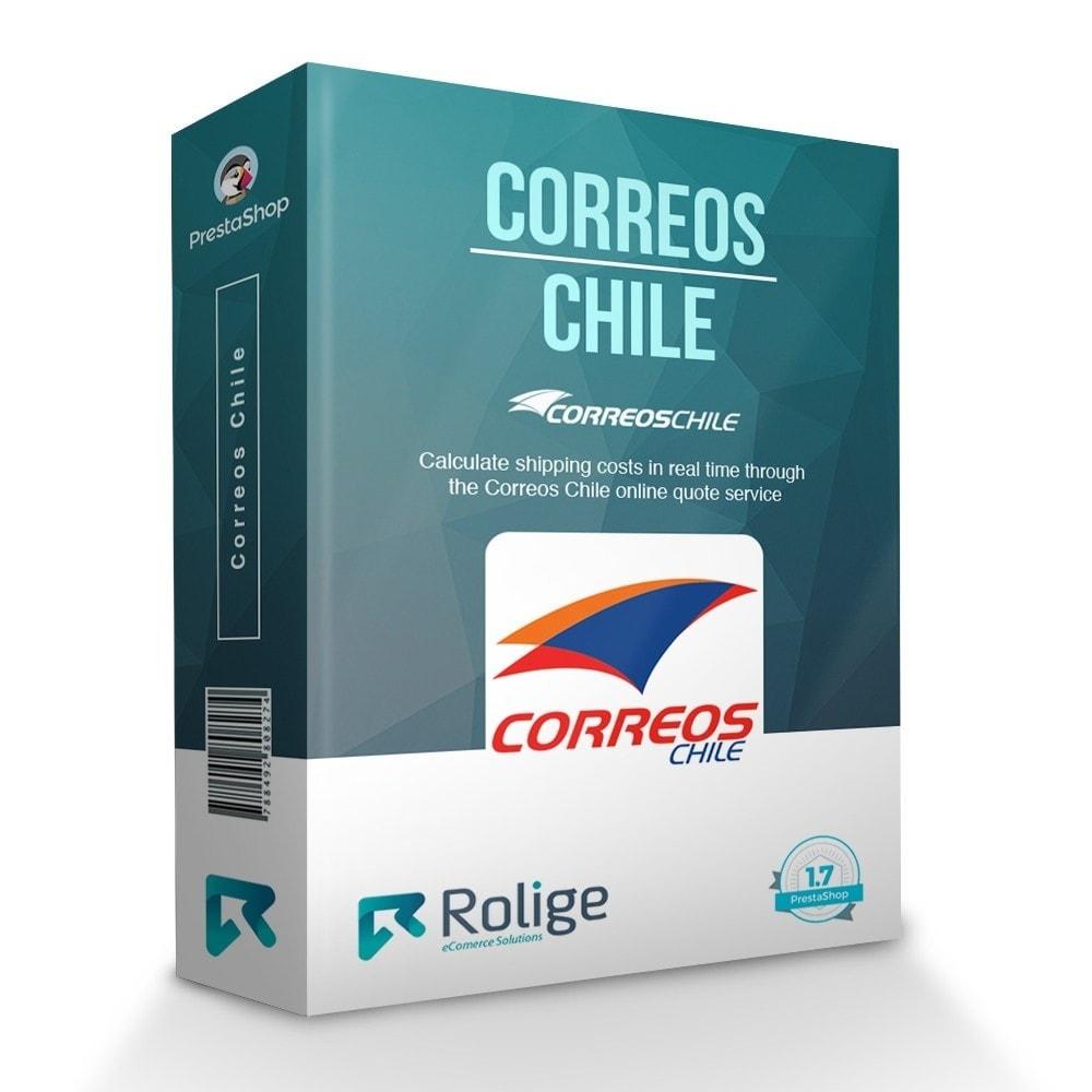 module - Verzendkosten - Correos Chile - 1