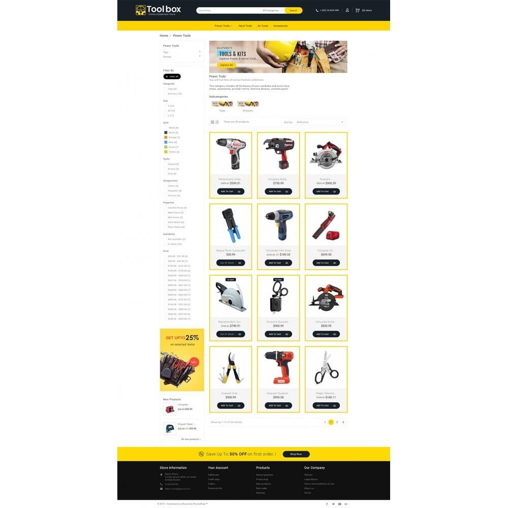theme - Autos & Motorräder - Tools Store - 4