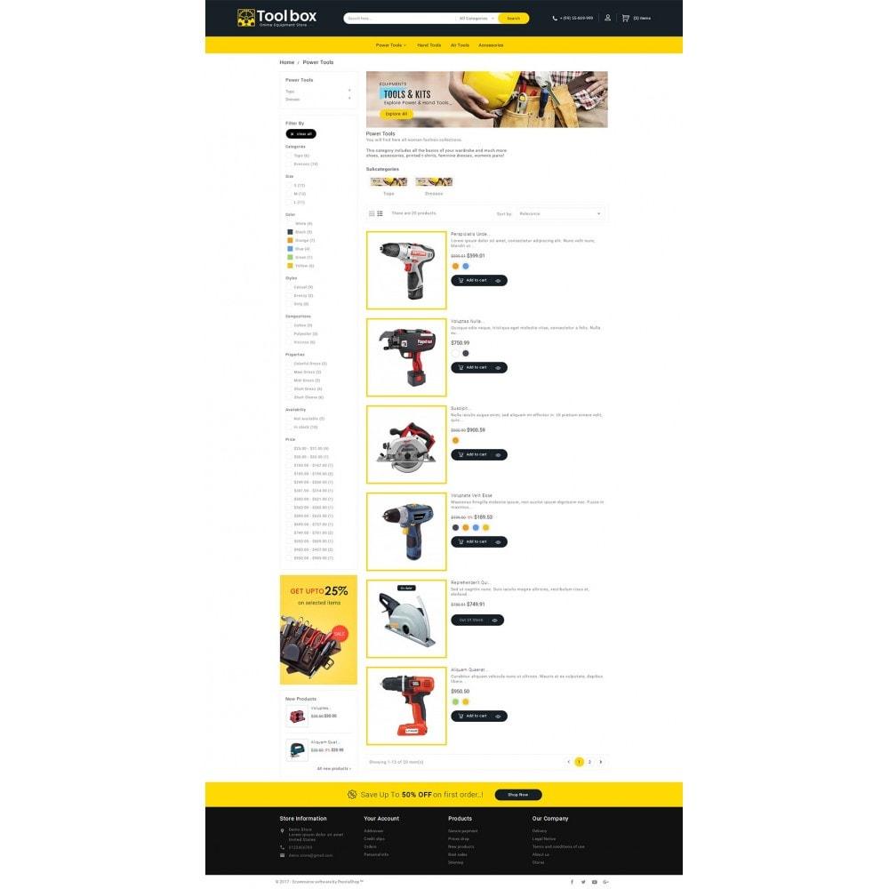 theme - Autos & Motorräder - Tools Store - 5