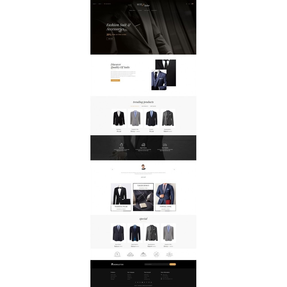 theme - Mode & Schuhe - Suit/Tailor Store - 3