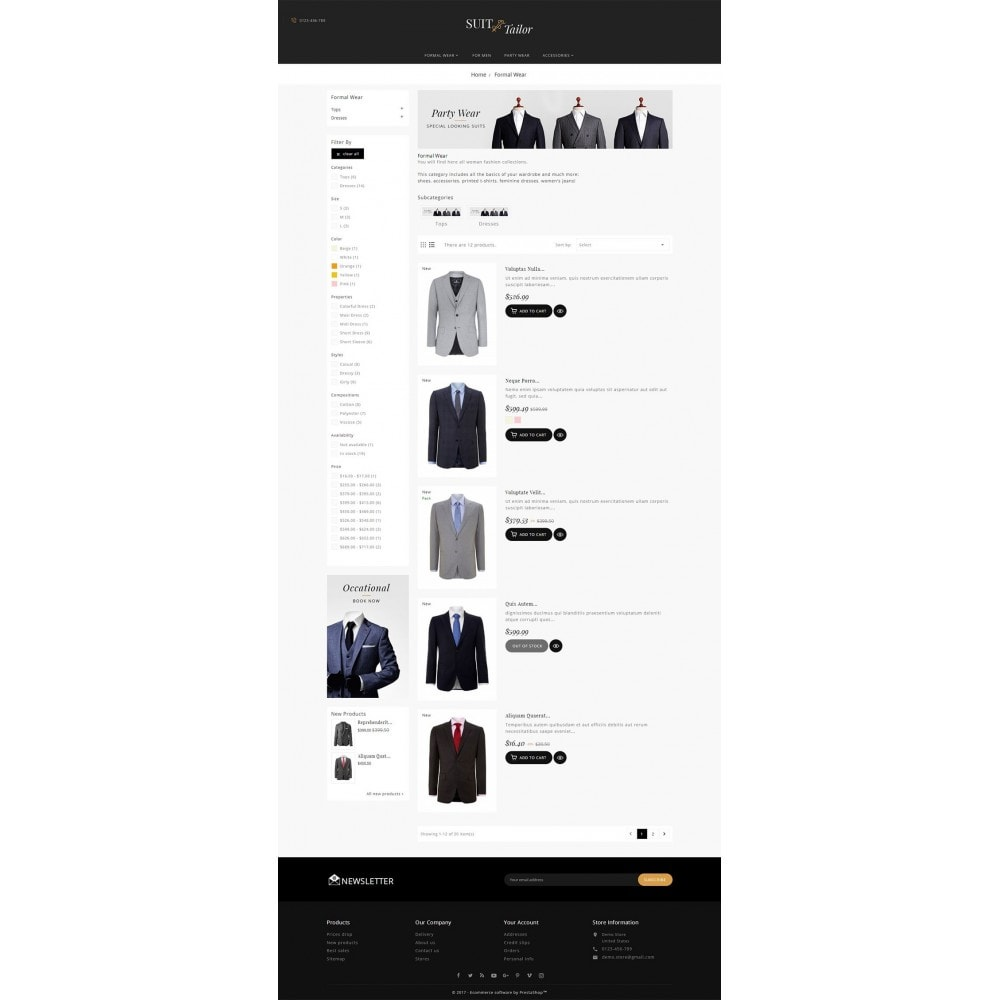 theme - Mode & Schuhe - Suit/Tailor Store - 5
