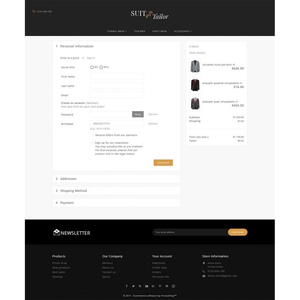 theme - Moda & Calzature - Suit/Tailor Store - 8