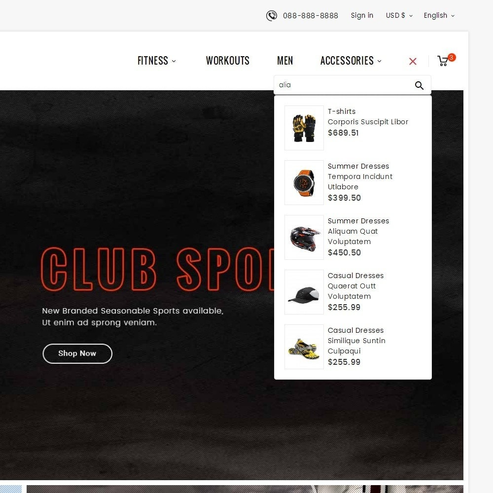 theme - Sport, Loisirs & Voyage - Sports Club - 11