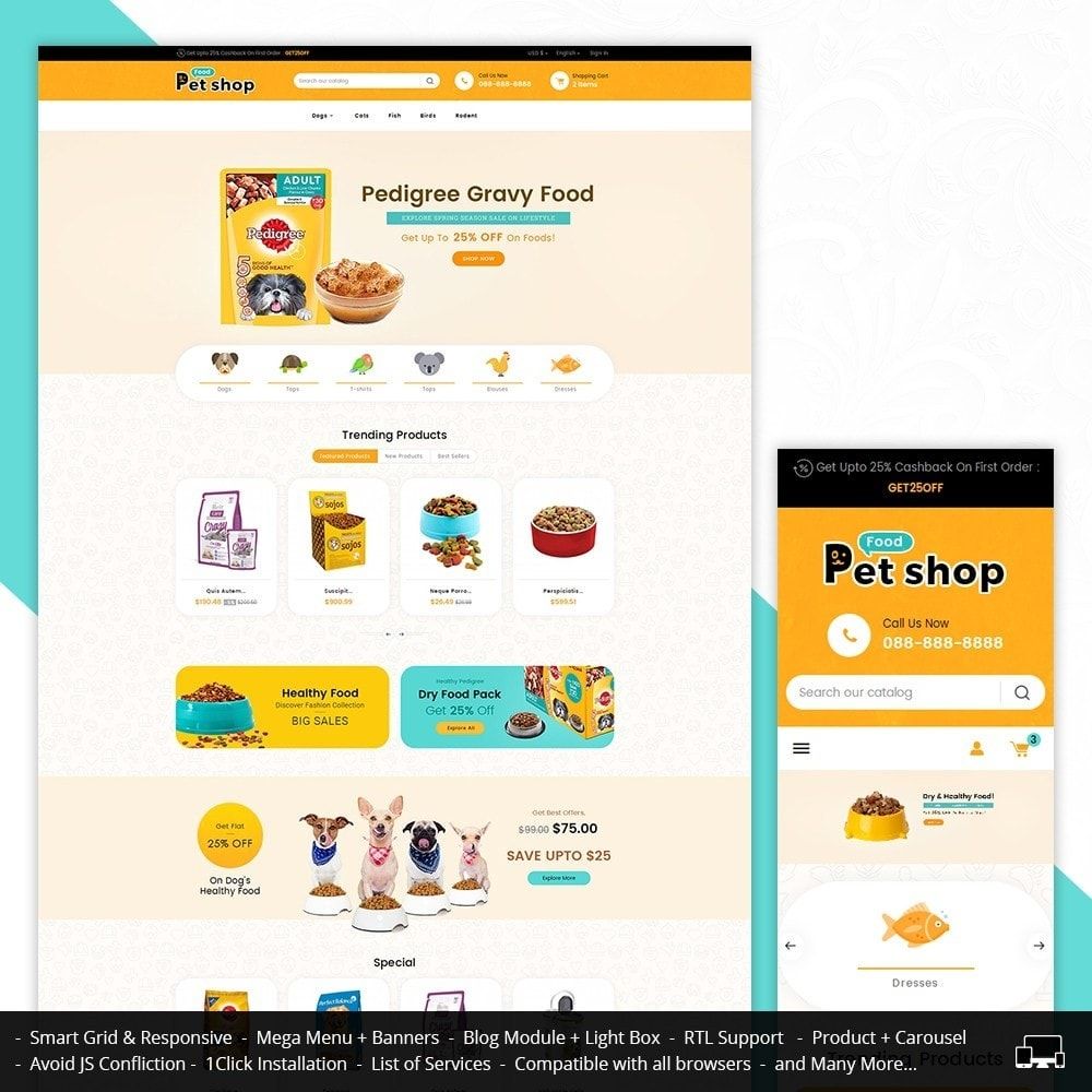 theme - Tier - Pet Food - 2