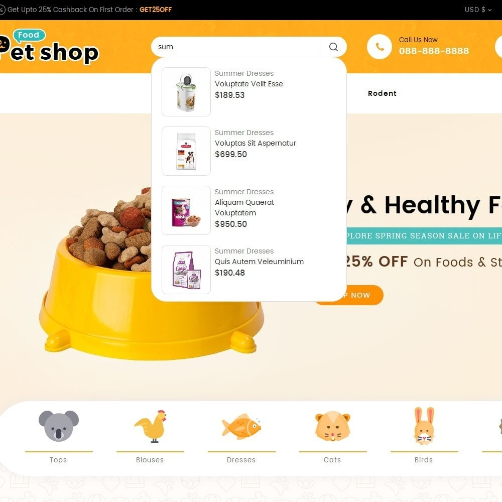 theme - Animales y Mascotas - Pet Food - 11
