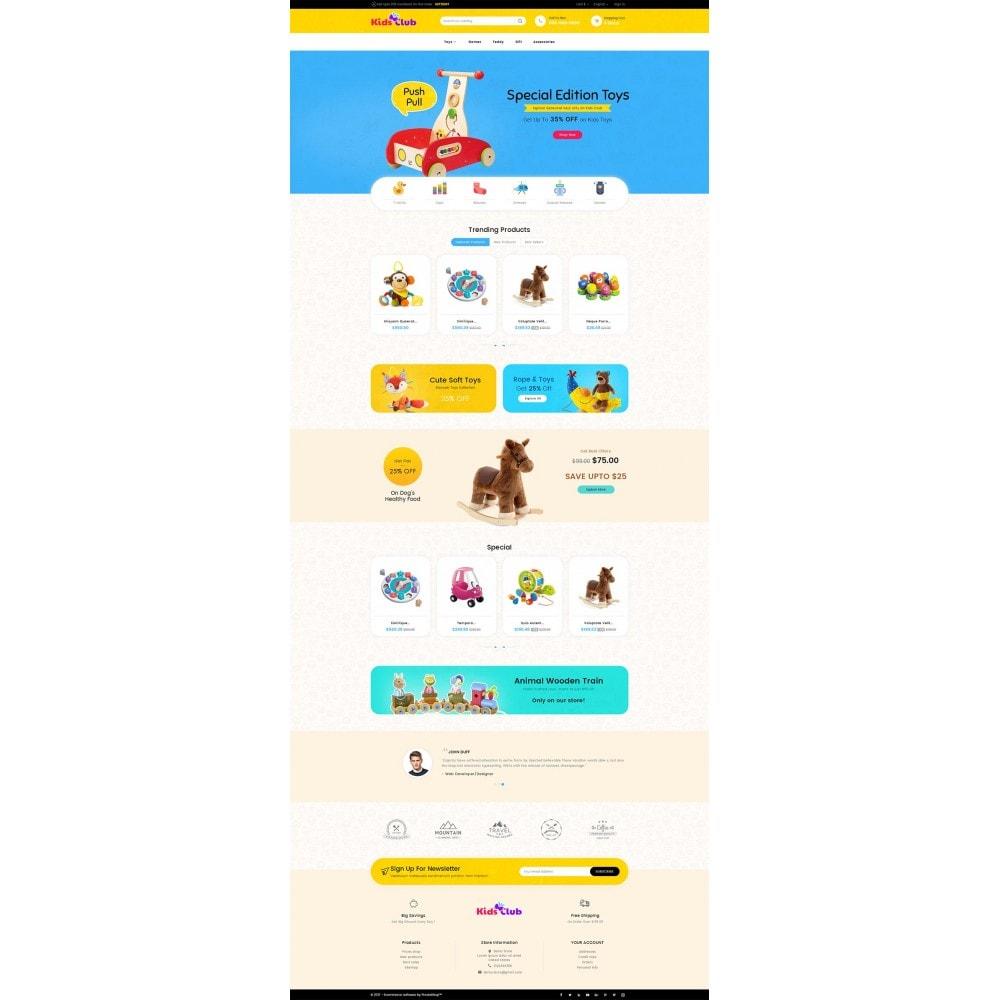 theme - Niños y Juguetes - Kids Toy Club - 3