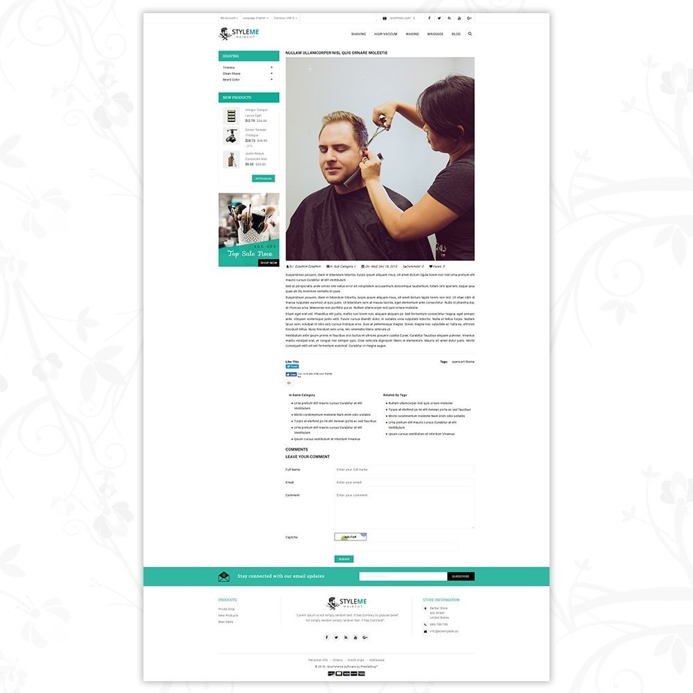 theme - Gezondheid & Schoonheid - Styleme - Barber Store - 7