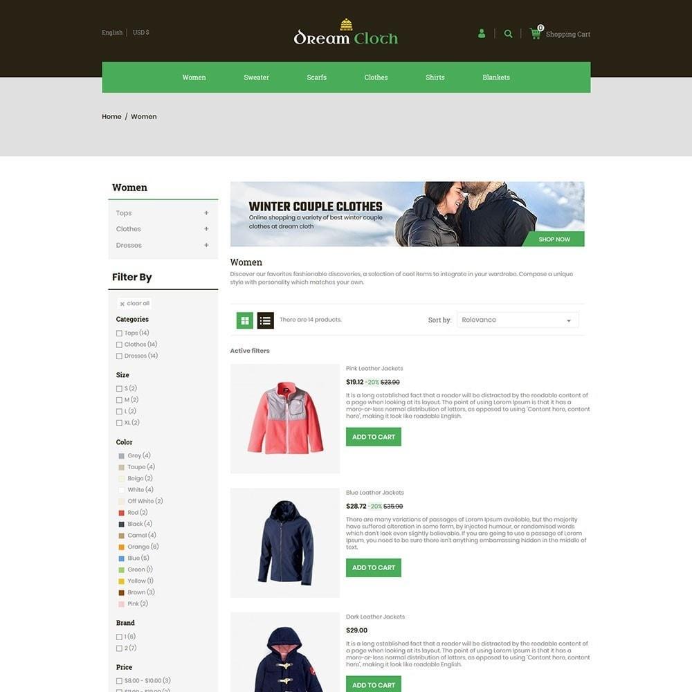 theme - Mode & Schuhe - Dream Cloth Store - 4