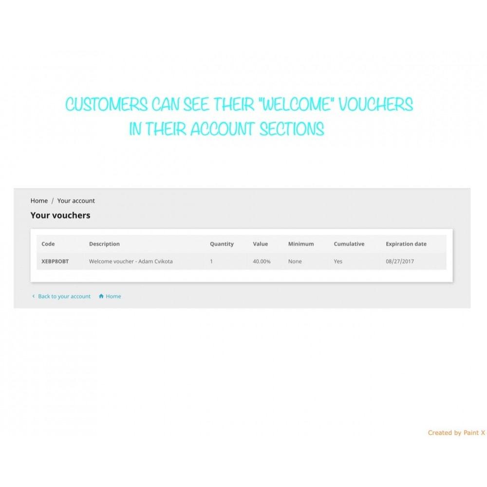 module - Promozioni & Regali - Invio automatico voucher dopo la registrazione/l'ordine - 5