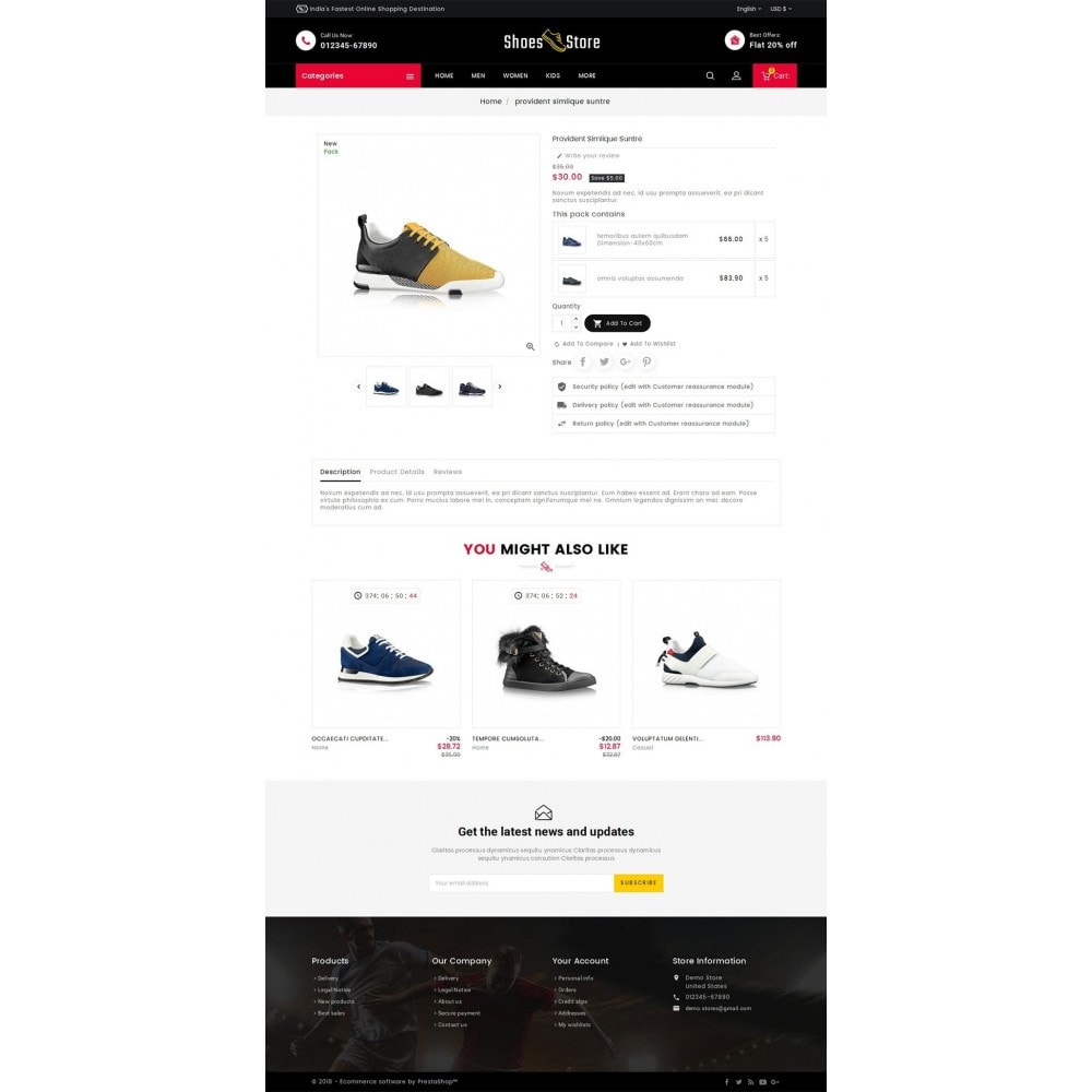 theme - Sport, Aktivitäten & Reise - Sports Shoes Store - 6