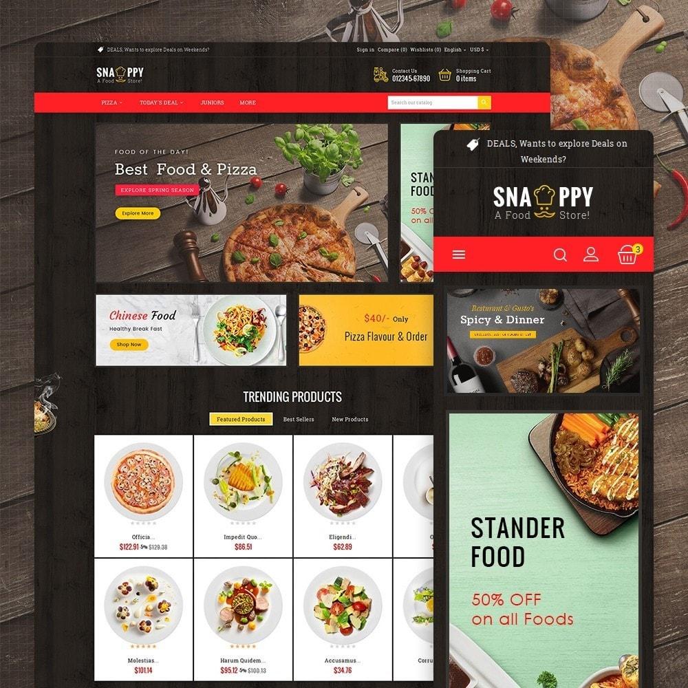 theme - Cibo & Ristorazione - Restaurant & Snacks Food - 2