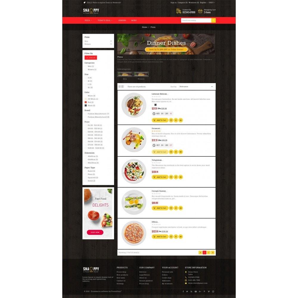 theme - Cibo & Ristorazione - Restaurant & Snacks Food - 5