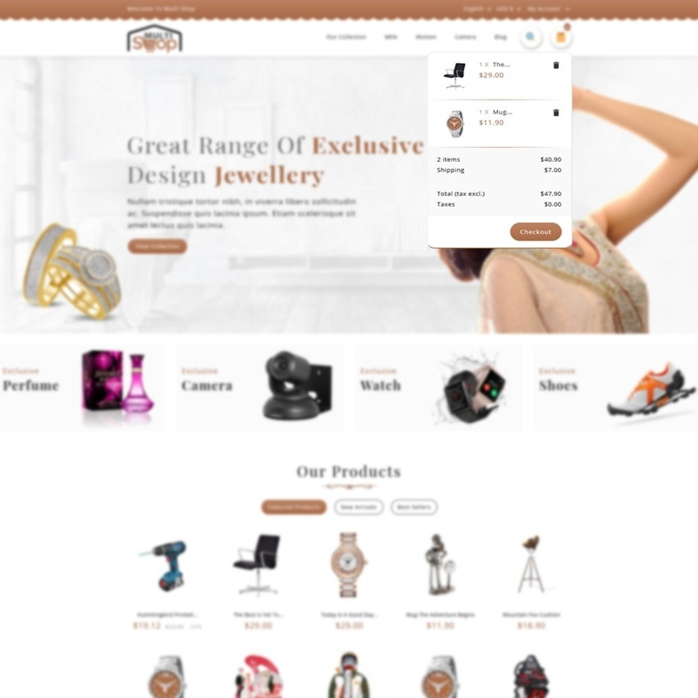 theme - Moda y Calzado - MultiShop - Multi Store - 6