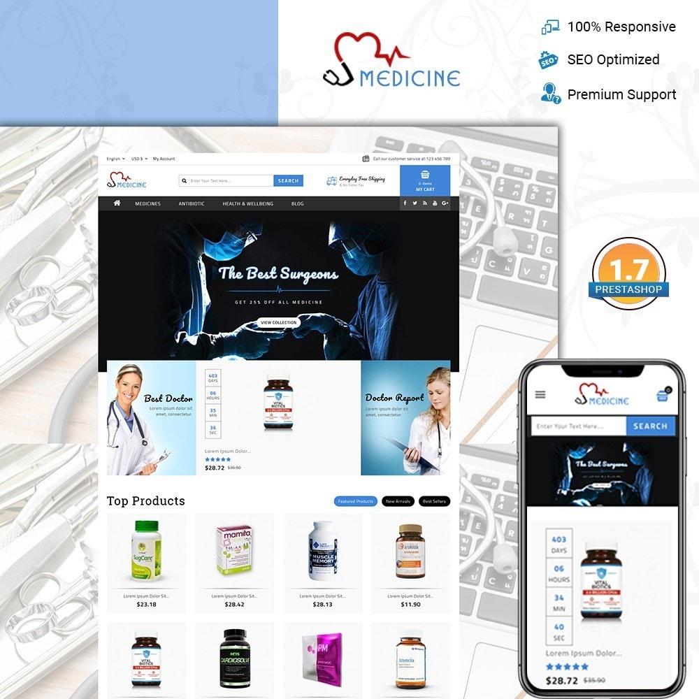 theme - Здоровье и красота - Medicine Store - 1