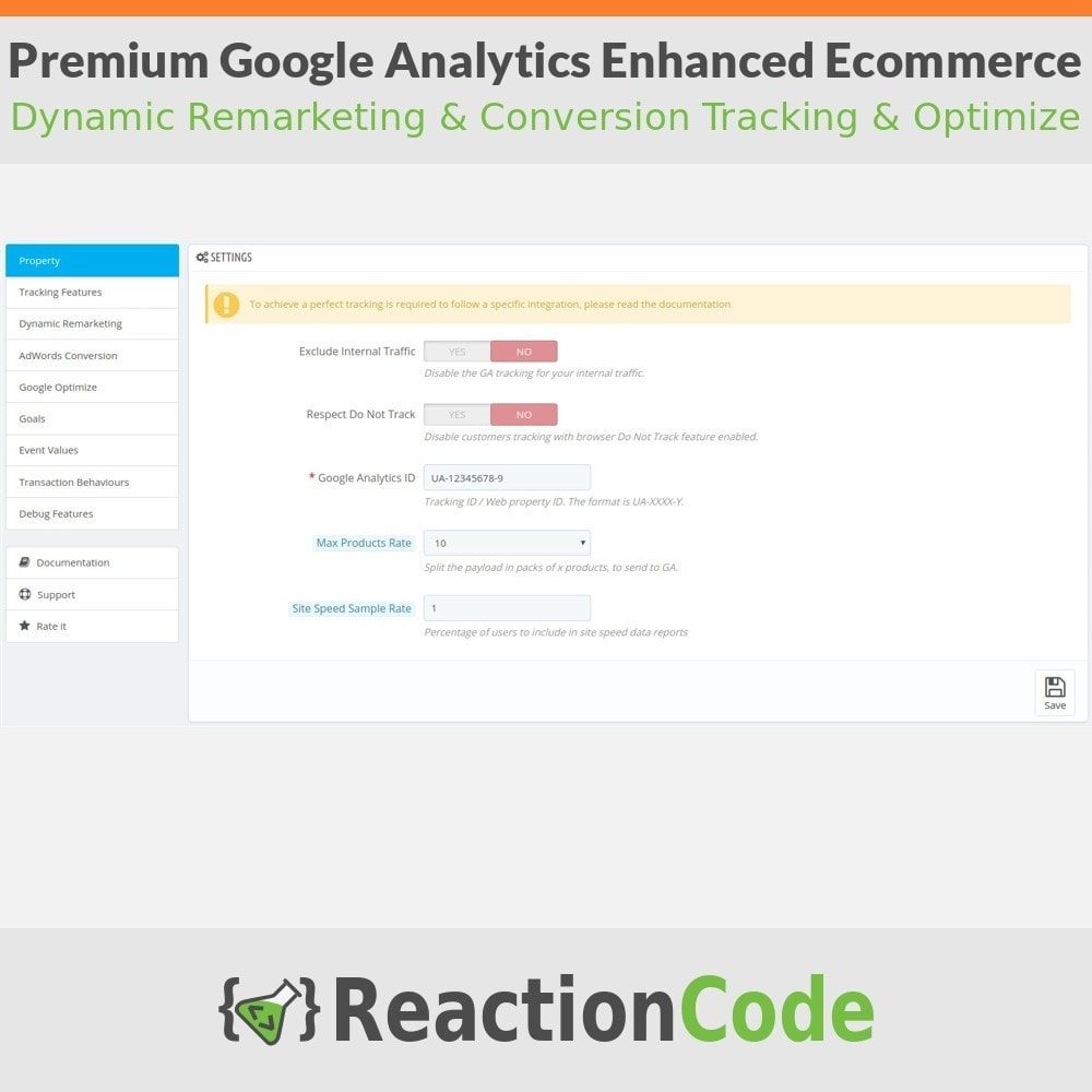 module - Analyses & Statistiques - Premium Google Analytics Enhanced Ecommerce - 2