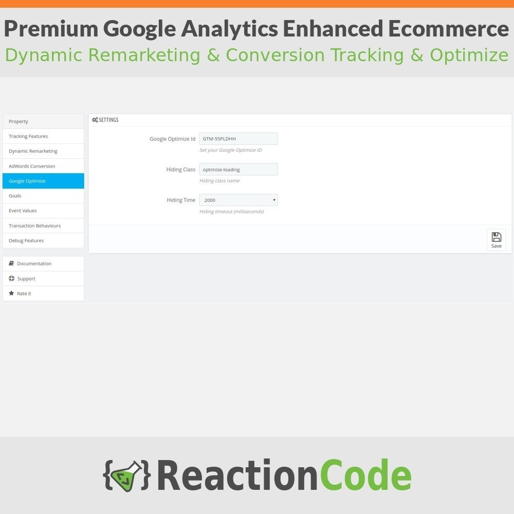 module - Informes y Estadísticas - Premium Google Analytics Enhanced Ecommerce - 6
