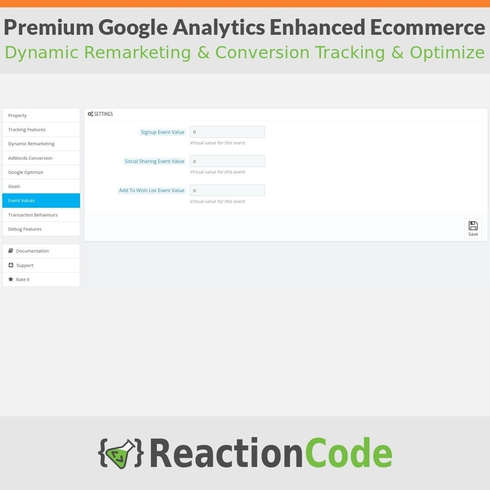 module - Analyses & Statistieken - Premium Google Analytics Enhanced Ecommerce - 8