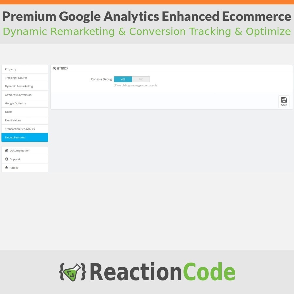 module - Informes y Estadísticas - Premium Google Analytics Enhanced Ecommerce - 10