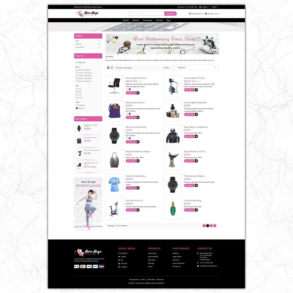 theme - Mode & Schuhe - Moremega_store - 4