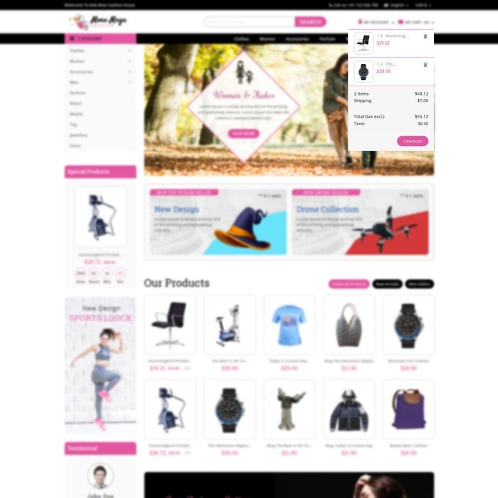 theme - Mode & Chaussures - Moremega_store - 8