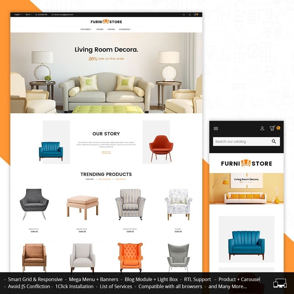 theme - Hogar y Jardín - Furniture Store - 2